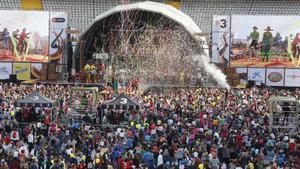 Una imagen de la Festa dels Súpers celebrada el añopasado.