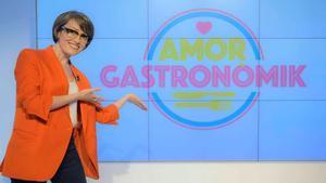 Thais Villas, presentadora del programa de citas 'Amor gastronòmik', que emitirá La 2 en Catalunya.
