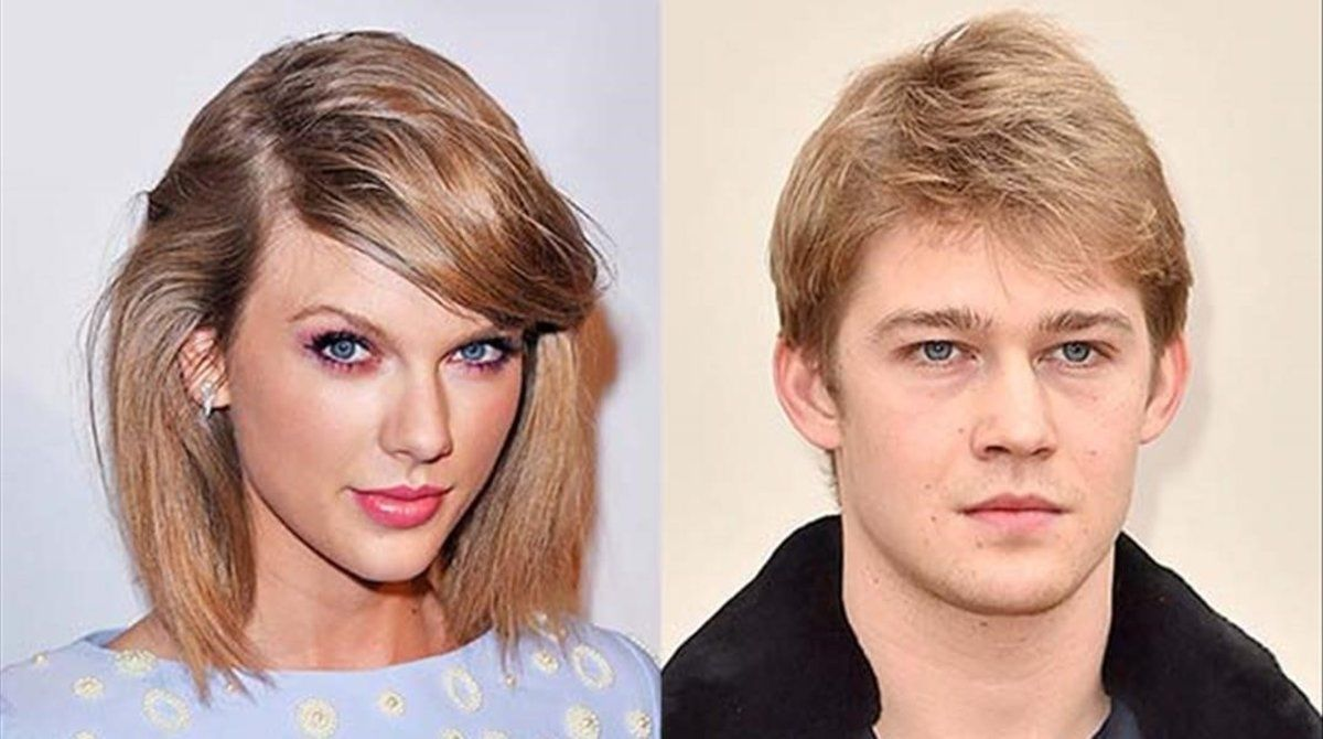 Taylor Swift y su novio, el actor Joe Alwyn.