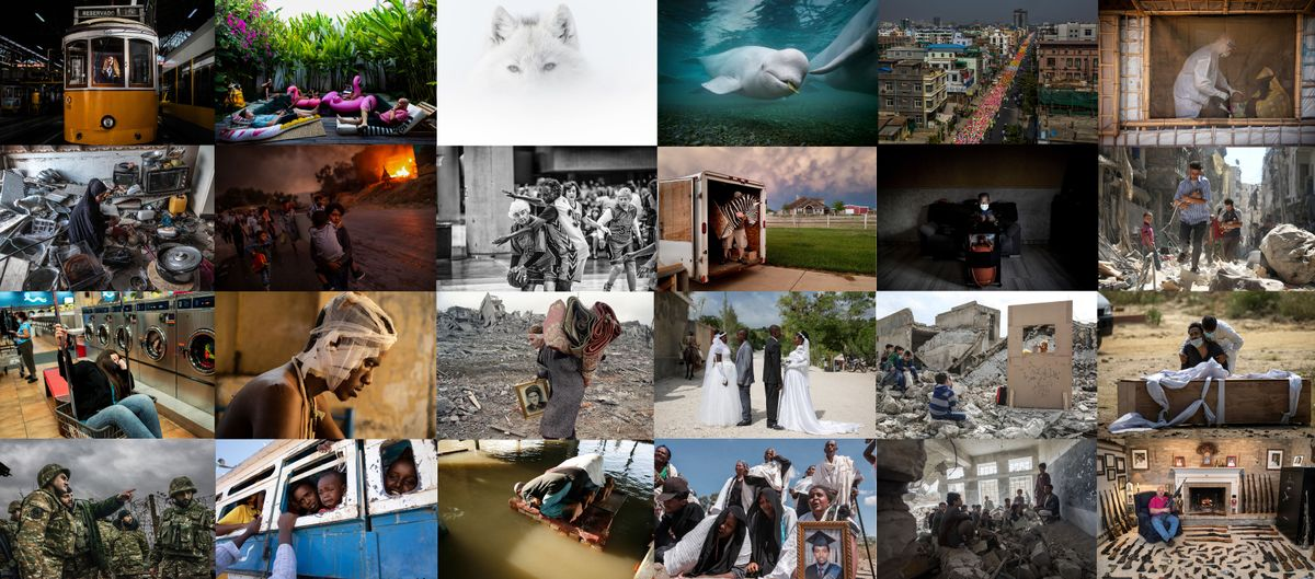 Unas selección de las fotografías que se verán en el Festival Internacional de Fotoperiodismo Visa pour l´image en Perpignan, Francia.