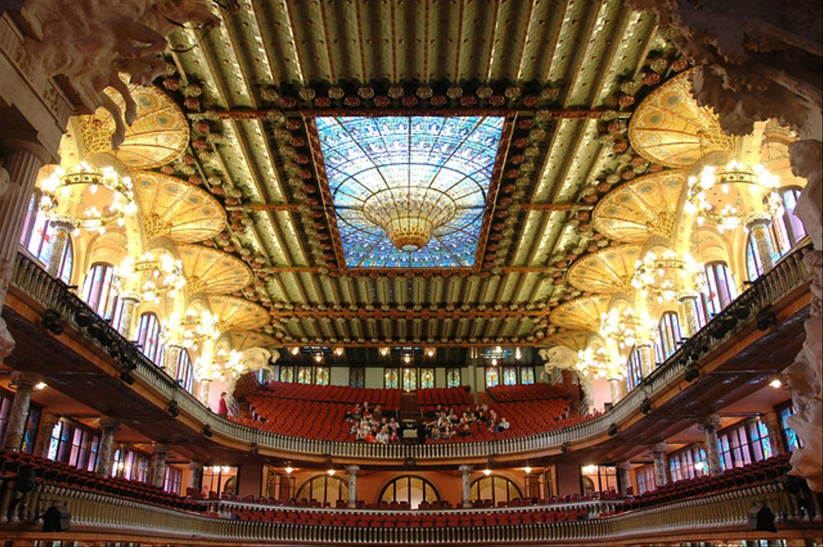 El Palau de la Música.