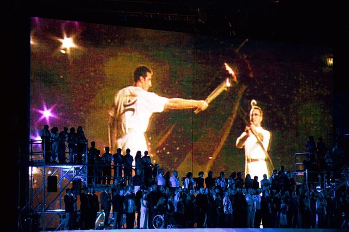 Ceremonia de apertura de los Juegos Olímpicos de Barcelona-92