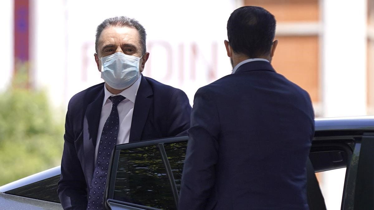 Franco qualifica de «matusser» l'informe de la Guàrdia Civil sobre el 8-M