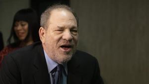 Harvey Weinstein, en el juicio contra él por violación.