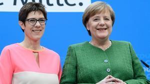 Merkel designa la número dos de la CDU en clau successòria