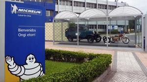 Fábrica de Michelin en Lasarte.