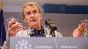 El epidemiólogo Fernando Simón, en una imagen de archivo.