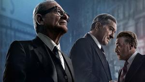 Joe Pesci, Robert De Niro y Al Pacino, en una imagen promocional de 'El irlandés'