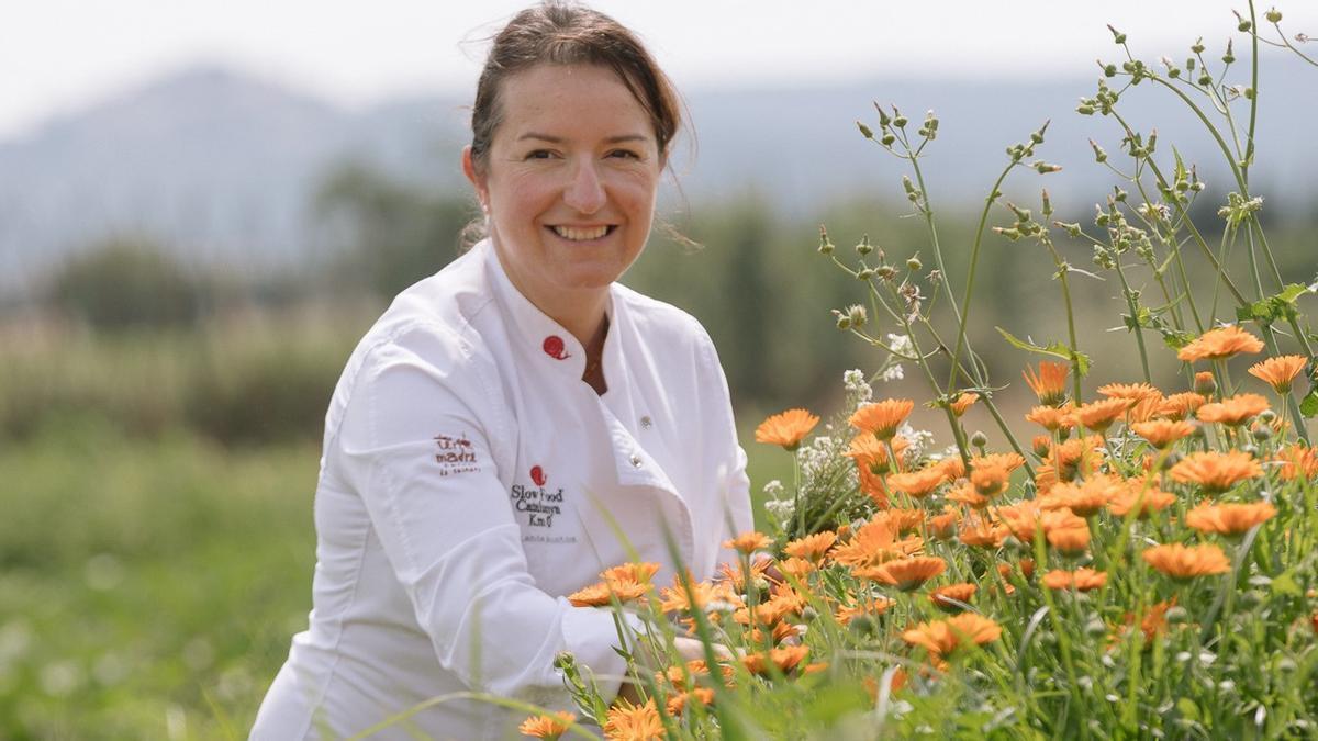La chef Iolanda Bustos.