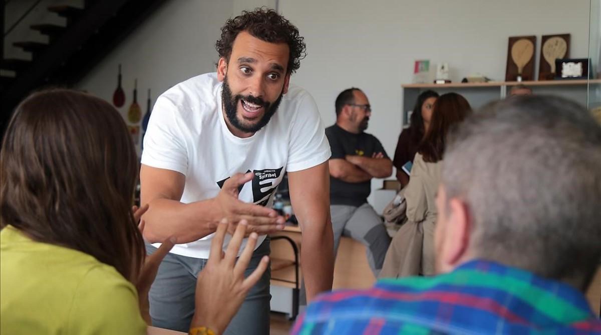 Jesús Candel, 'Spiriman', médico que denuncia la precariedad de la sanidad andaluza.