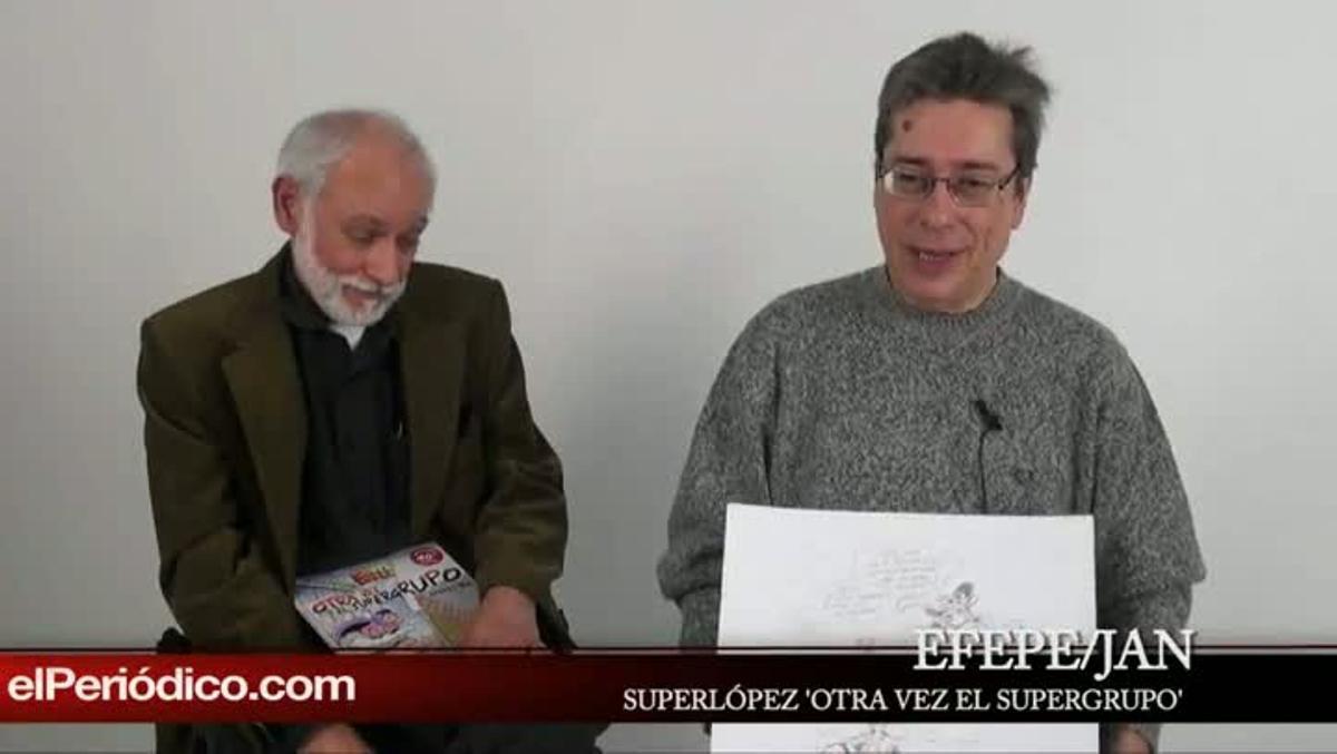 Vuelve 'SUPERLÓPEZ' en el supergrupo, a peticion de la editorial.
