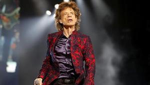 Mick Jagger, durante un concierto de los Stones en México, en el 2016