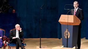 El rei destaca la «pàtria comuna de coneixement i cultura» dels premis Princesa d'Astúries