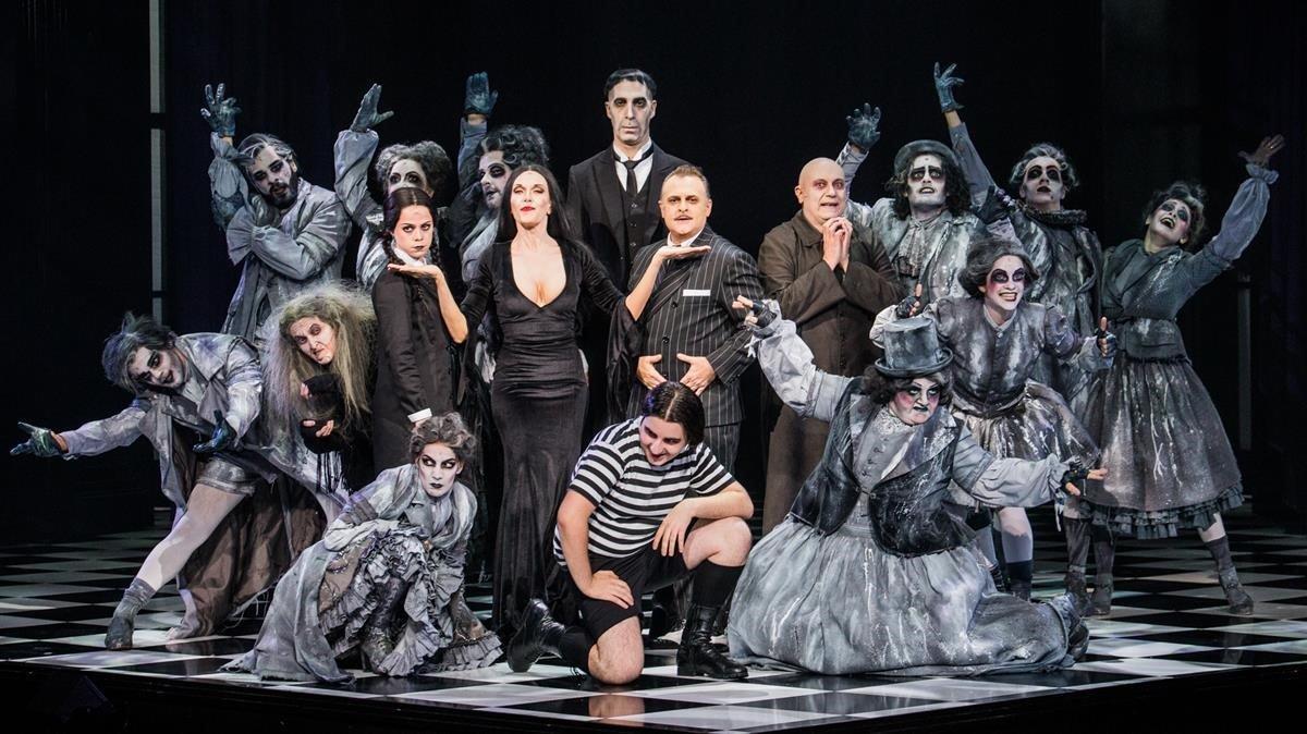 Una imagen promocional de 'La familia Addams'