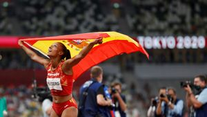 Ana Peleteiro hace historia para el atletismo gallego: bronce en triple salto