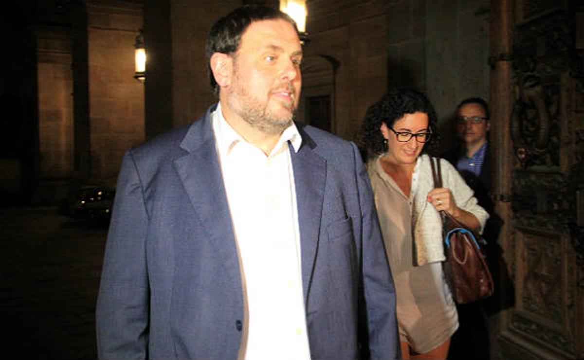 Convergència y Esquerra Republicana han alcanzado un principio de acuerdo para concurrir de forma conjunta a laselecciones del 27 de setiembre.