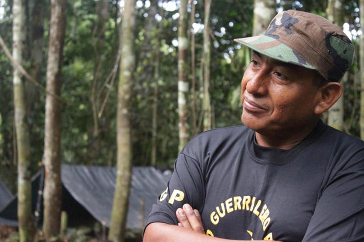 El 'camarada Artemio', en una entrevista televisiva.