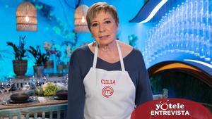 Celia Villalobos, concursante de 'Masterchef Celebrity 5'.