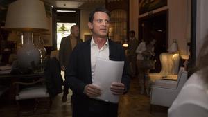 Manuel Valls: «Després de pensar-lo molt, vaig votar Salvador Illa el 14-F»
