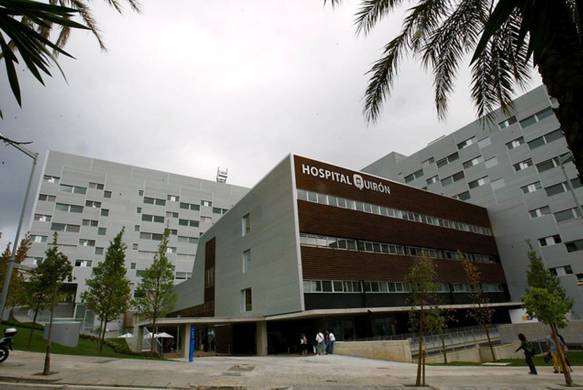 La clínica Quirón, en Barcelona.