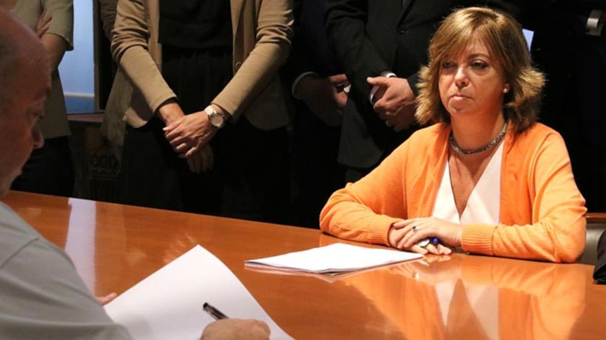 La Fiscalía la acusa de prevaricación, desobediencia y malversación en los preparativos del referéndum.
