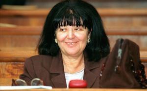 Mirjana Markovic, viuda del ex lider serbio Slobodan Milosevic.