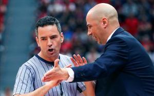 Joan Peñarroya, técnico del Baxi Manresa, en una imagen de esta temporada