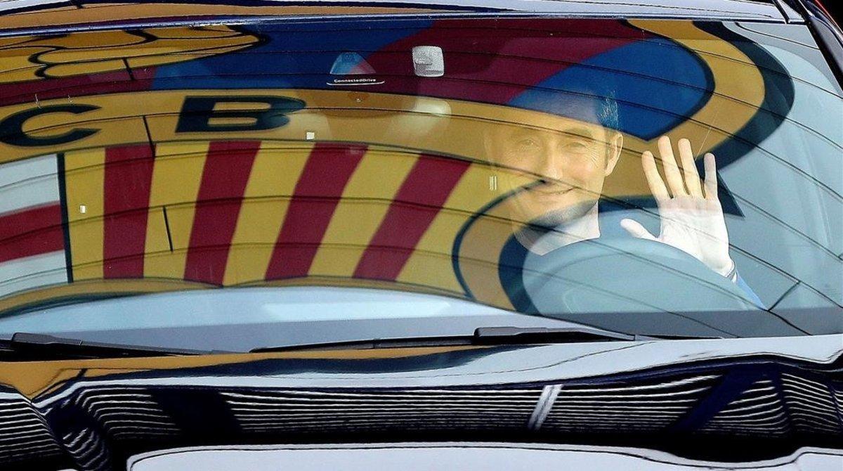 Pues sí, Ernesto Valverde abandonó el Barça sonriendo