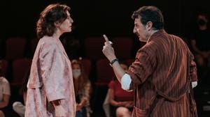 Teatro 'Filumena Marturano', con Clara Segura y Enrico Laniello Foto Silvia Poch