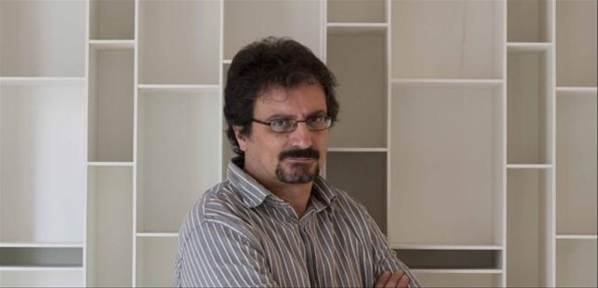 El escritor y antropólogo Albert Sánchez Piñol.
