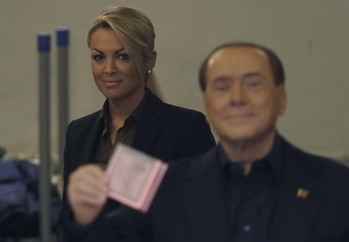 Berlusconi y Pascale, en Roma, en una imagen del 2016.