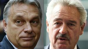 Combo de imágenes de Orbán (izquierda) y Asselbon.