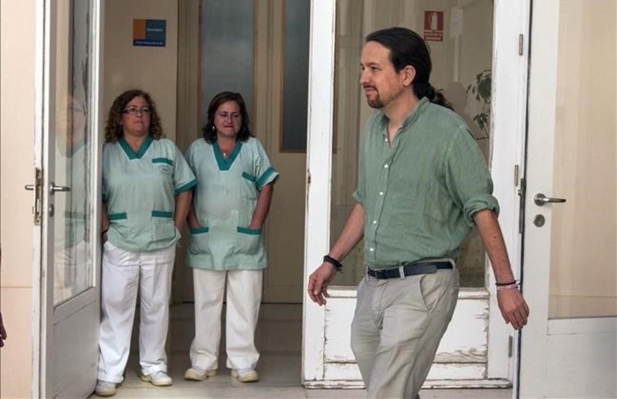 El secretario general de Podemos, Pablo Iglesias, el pasado 6 de julio en Cádiz.