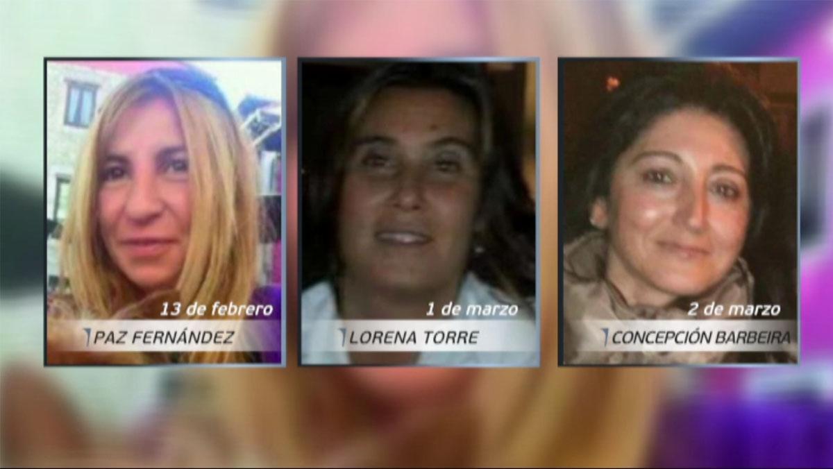 Tres mujeres desaparecidas en Asturias.
