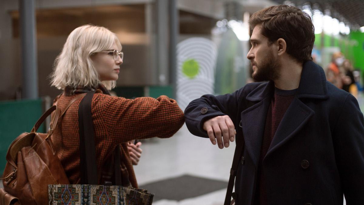 Lucy Boynton y Kit Harington, en la segunda temporada de 'Modern love'.