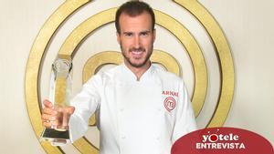 Arnau, guanyador de 'Masterchef 9': «El programa no hauria sigut el mateix sense Ofelia»