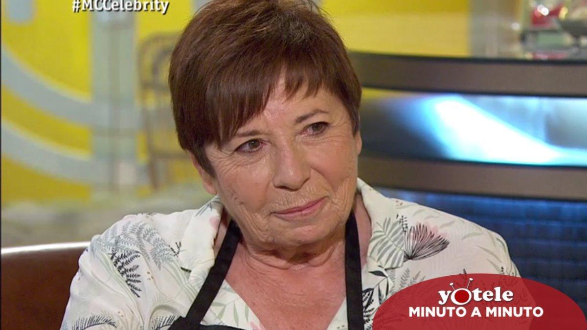 Celia Villalobos, última expulsada de 'Masterchef Celebrity 5'.