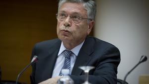 El expresidente de la CAM Modesto Crespo en mayo de 2012