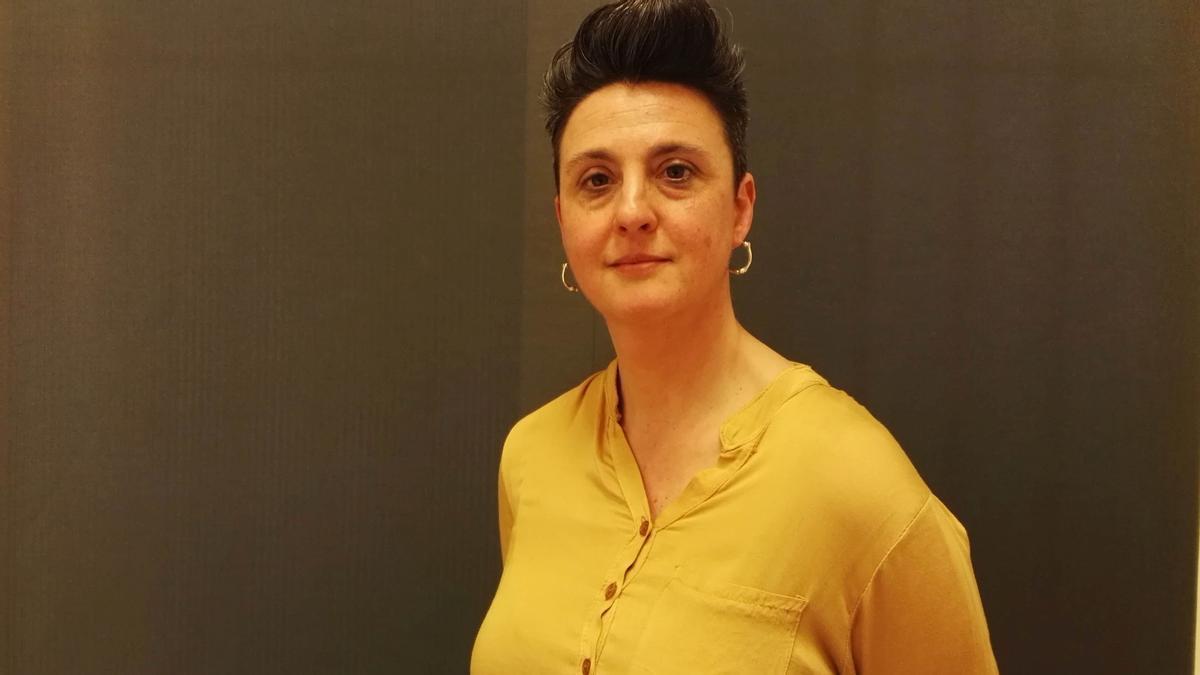 La escritora barcelonesa Elisabet Riera.