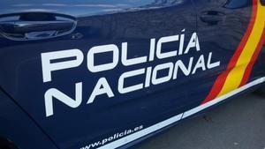 25/09/2018 Foto de recurso de un coche patrulla de Policía Nacional.