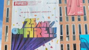 Aspecto de la fachada del Institut Francés, donde se celebra esta muestra.