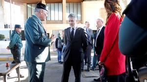 Marlaska anuncia la retirada de la tercera tanca de Melilla
