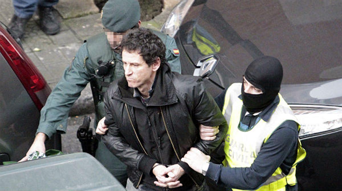 Ocho detenidos en la operación de la Guardia Civil contra el grupo de enlace entre ETA y sus presos