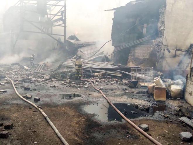 Un incendio en una planta química de Rusia causa al menos 16 muertos