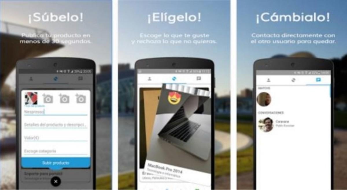 Swapp: la app móvil que permite subir productos para intercambiarlos por otros sin intervención de dinero