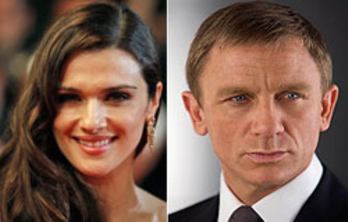 Rachel Weisz y Daniel Craig, en fotos de archivo.