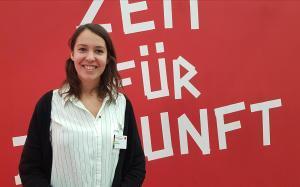 Antonia Hemberger, integrante de la direccion de los Jusos (juventudes socialdemocratas).