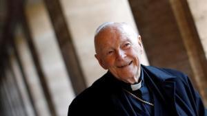 El cardenal Theodore Edgar McCarrick, acusado de pederastia.