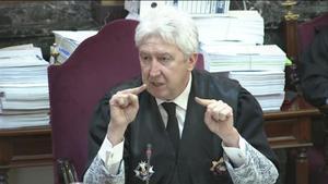 Fidel Cadena, miembro del cuarteto de fiscales del juicio del 'procés'.
