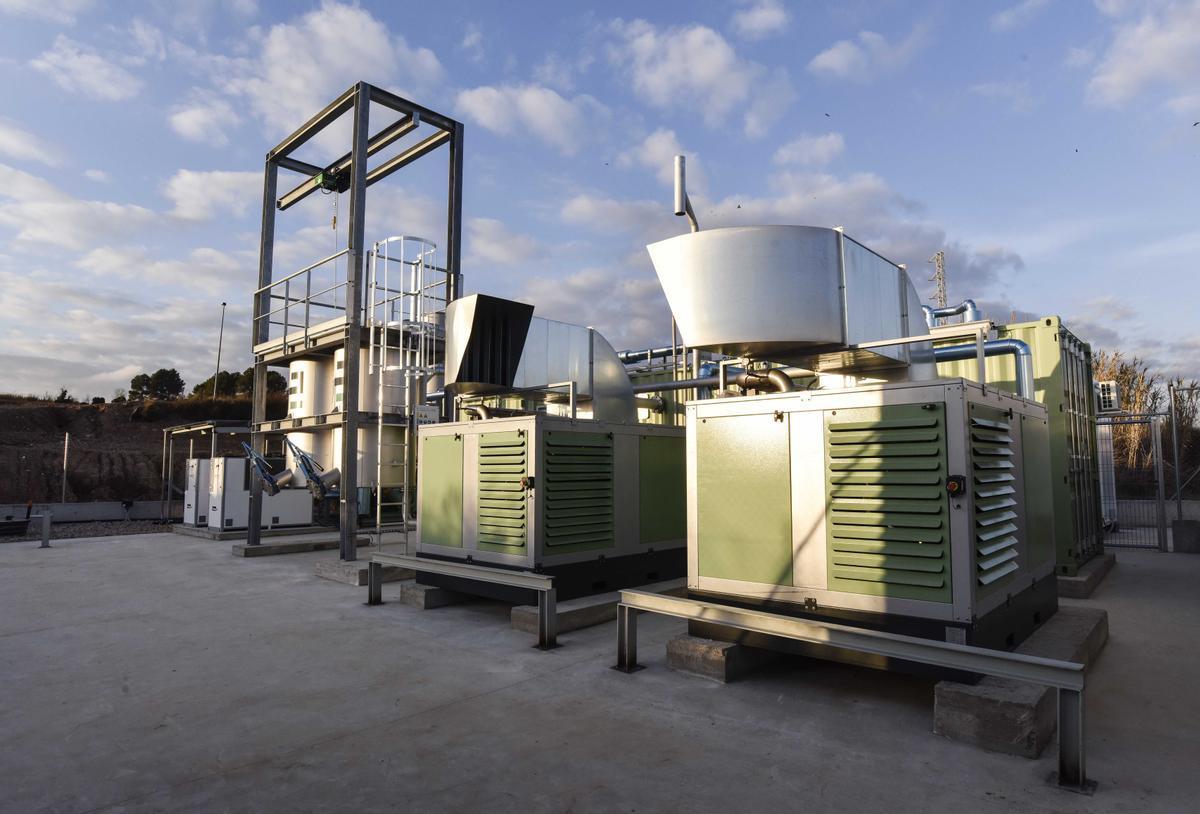 Naturgy inyecta gas renovable procedente de un vertedero en la red de distribución